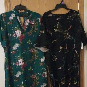2 Womens Worthington Dresses